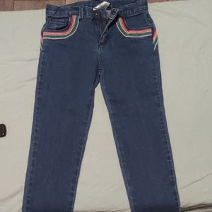 Carters 4T Rainbow Jeans